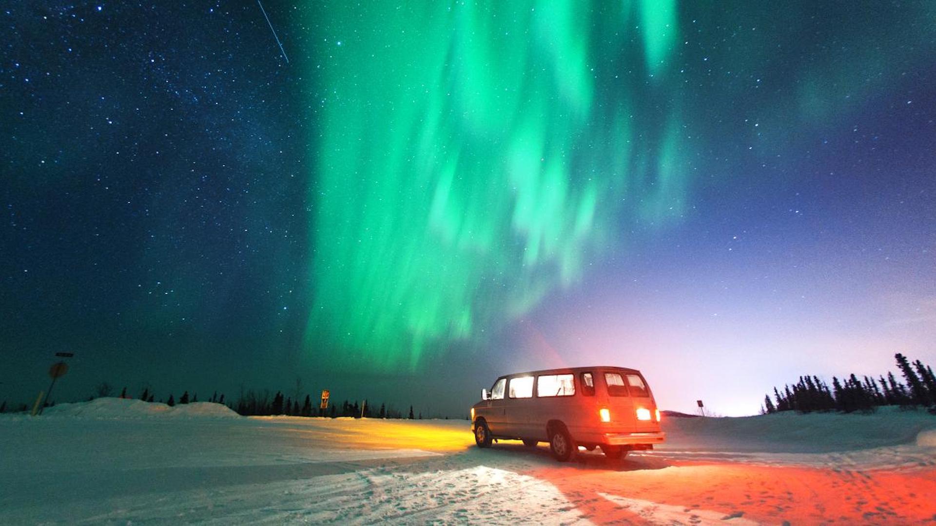 aurora boreal usa