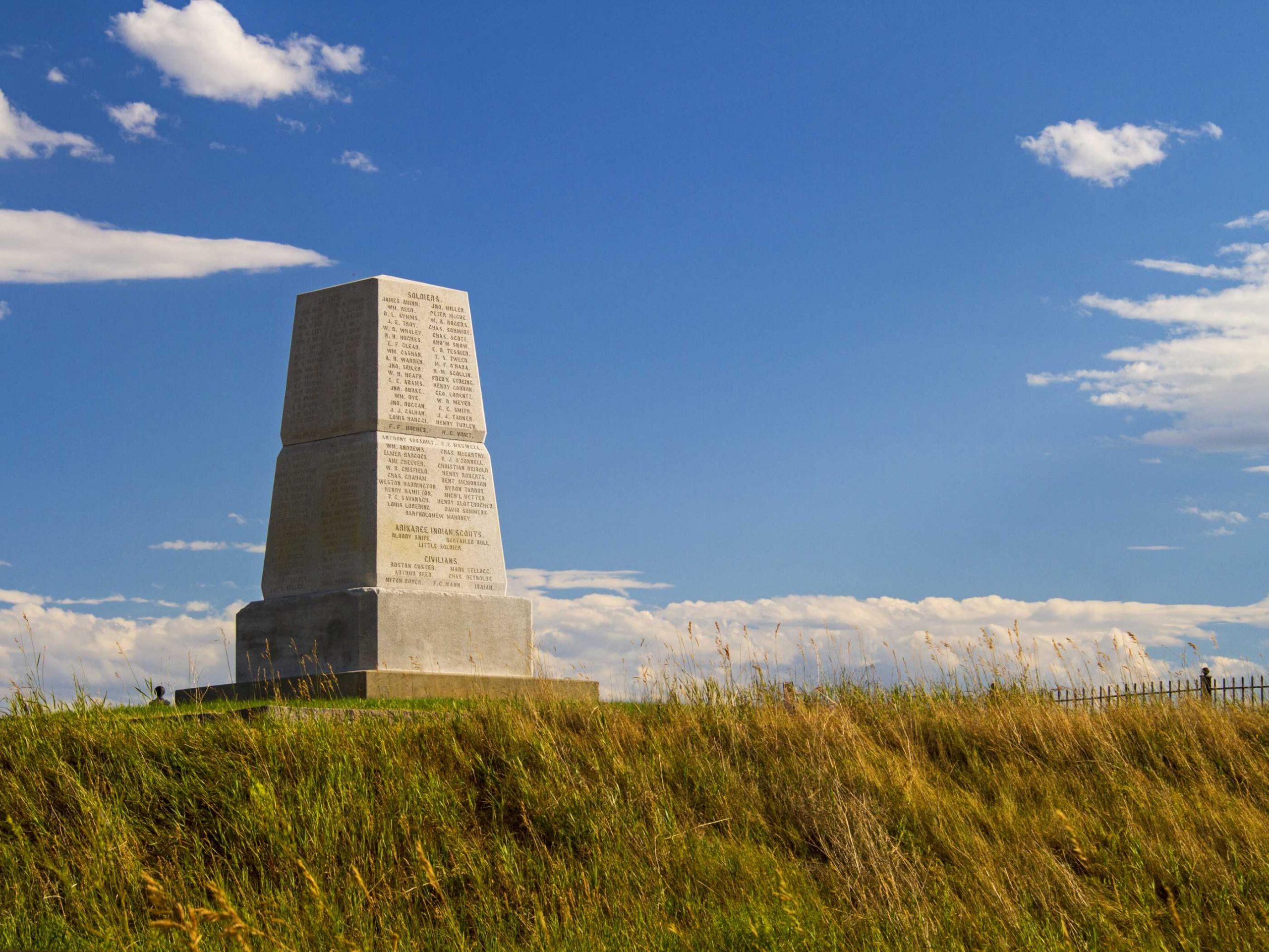 monumento nacional de la batalla de little bighorn