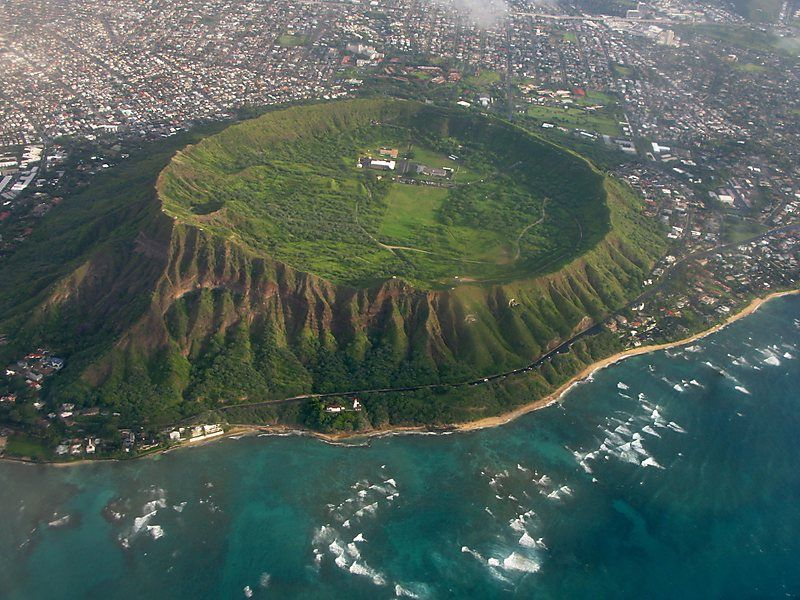 Diamond Head en Honolulu